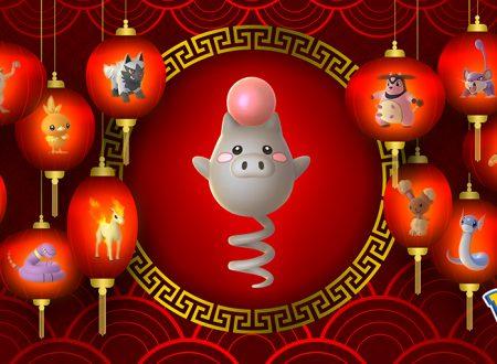 Pokémon GO: annunciato un nuovo evento dedicato al Capodanno lunare