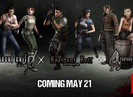Resident Evil, Resident Evil 0 e Resident Evil 4, sono in arrivo il 21 maggio sui Nintendo Switch europei