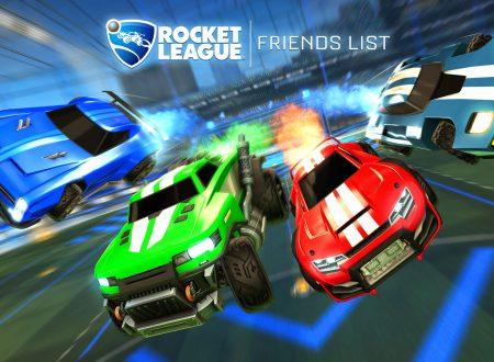 Rocket League: il Friends Update è in arrivo nei prossimi giorni nel titolo