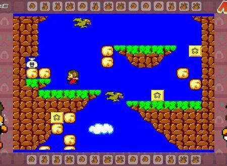 SEGA Ages Alex Kidd in Miracle World: il titolo è in arrivo il 21 febbraio sull'eShop di Nintendo Switch