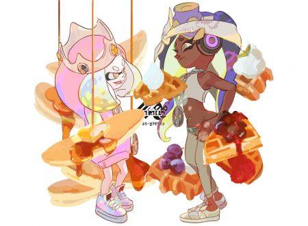 Splatoon 2: mostrato l'artwork dello Splatfest, qual è il dessert migliore a colazione: pancake o waffle?