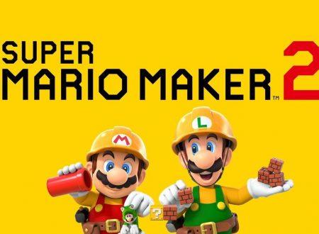 Super Mario Maker 2: il titolo è ufficialmente in arrivo a giugno su Nintendo Switch