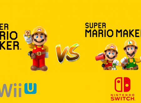 Super Mario Maker 2: video confronto con i trailer di annuncio del capitolo Wii U all'E3 2014 e il nuovo al recente Nintendo Direct