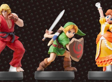 Super Smash Bros. Ultimate: gli amiibo di Ken, Daisy e Link bambino sono in arrivo il 12 aprile