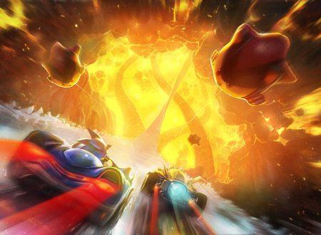 Team Sonic Racing: SEGA mostra le prime immagini dedicate al nuovo scenario: Hidden Volcano
