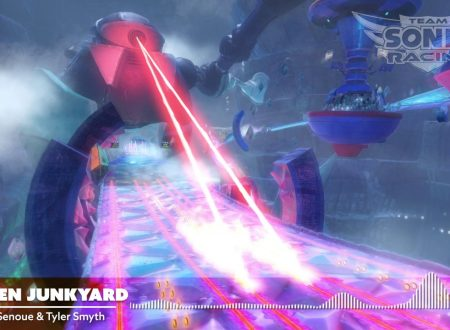 Team Sonic Racing: un nuovo video ci mostra lo scenario di Frozen Junkyard