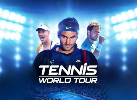 Tennis World Tour: il titolo aggiornato alla versione 1.12 su Nintendo Switch