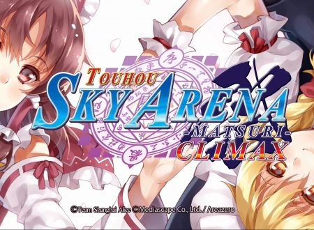 Touhou Sky Arena: Matsuri Climax, uno sguardo in video al titolo dai Nintendo Switch europei