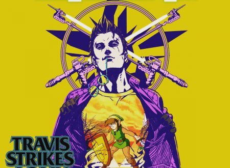 Travis Strikes Again: No More Heroes, la prossima patch offrirà una t-shirt da Zelda II: The Adventure of Link