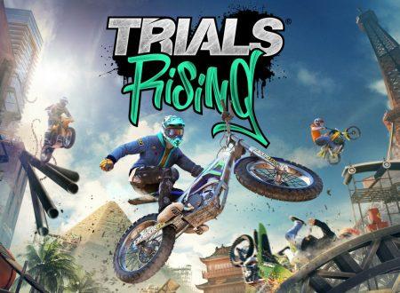 Trials Rising: il titolo aggiornato alla versione 1.0.4 sui Nintendo Switch europei