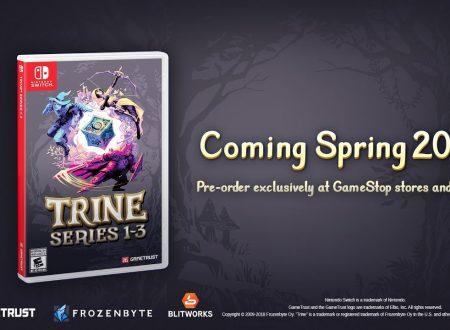 Trine 2: il titolo è in arrivo il 18 febbraio sull'eShop di Nintendo Switch