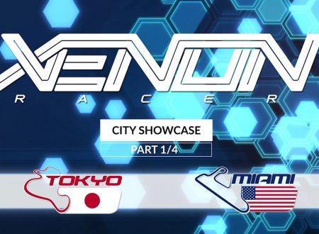 Xenon Racer: mostrati in un video i tracciati di Miami e Tokyo