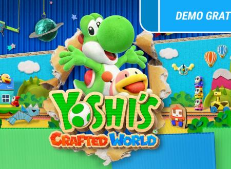 Yoshi's Crafted World: una demo è ora disponibile sui Nintendo Switch europei