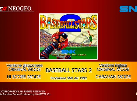 ACA NEOGEO Baseball Stars 2, uno sguardo in video al titolo dai Nintendo Switch europei