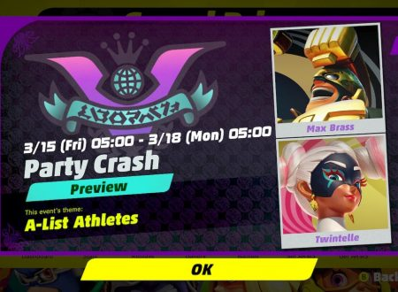 ARMS: rivelato il 9° Round del torneo Party Crash Bash: Max Brass vs. Twintelle