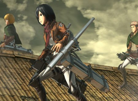 Attack on Titan 2: Final Battle, il titolo annunciato per l'arrivo su Nintendo Switch