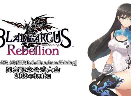 Blade Arcus Rebellion from Shining: pubblicato un nuovo livestream di SEGA sul titolo