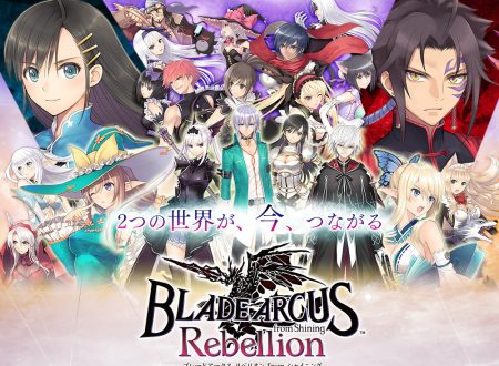 Blade Arcus Rebellion from Shining: pubblicato un video gameplay da Denjin☆Gacha