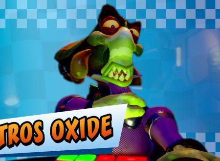 Crash Team Racing Nitro-Fueled: pubblicato un nuovo trailer dedicato a Nitros Oxide e il suo stage