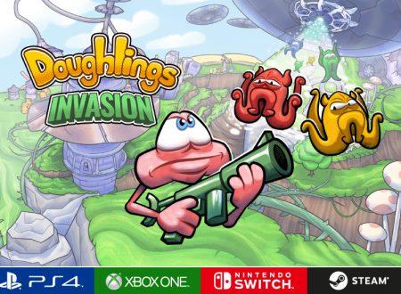 Doughlings: Invasion, il titolo è in arrivo nella primavera 2019 sull'eShop di Nintendo Switch