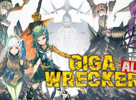 GIGA WRECKER Alt.: il titolo è in arrivo il 2 maggio sull'eShop di Nintendo Switch