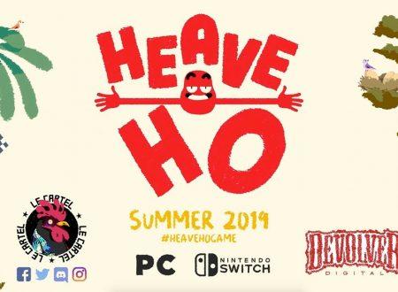 Heave Ho: il titolo è in arrivo nel corso dell'estate sull'eShop di Nintendo Switch