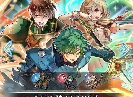 Fire Emblem Heroes: ora disponibile la preferenza evocazione: negazione contrattacco, con Alm, Faye e Roderick