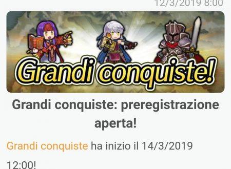 Fire Emblem Heroes: svelata la nuova sessione delle Grandi Conquiste nel continente di Tellius