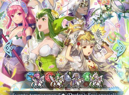 Fire Emblem Heroes: ora disponibili i nuovi eroi speciali: Conigli imperiali
