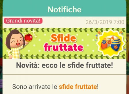 Animal Crossing: Pocket Camp: le sfide fruttate sono ora disponibili nel titolo