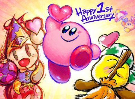 Kirby Star Allies: pubblicato un artwork dedicato al primo anniversario del titolo