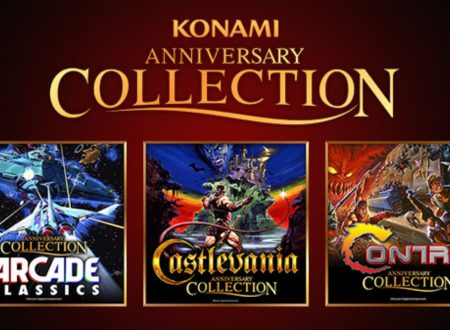 Konami 50th Anniversary Arcade Classics, la raccolta è in arrivo il 15 aprile su Nintendo Switch