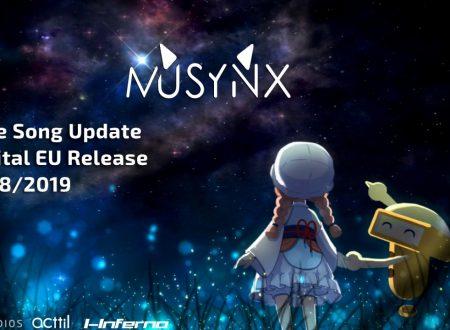 MUSYNX: il titolo aggiornato alla versione 1.1.3 sui Nintendo Switch europei