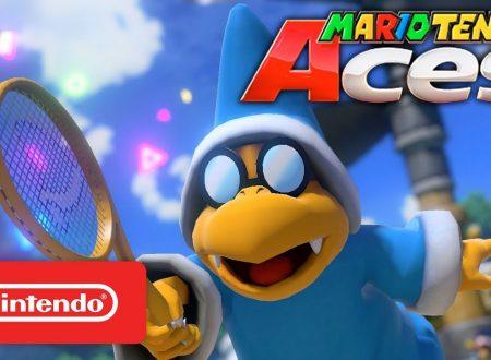 Mario Tennis Aces: pubblicato un nuovo trailer giapponese dedicato a Kamek