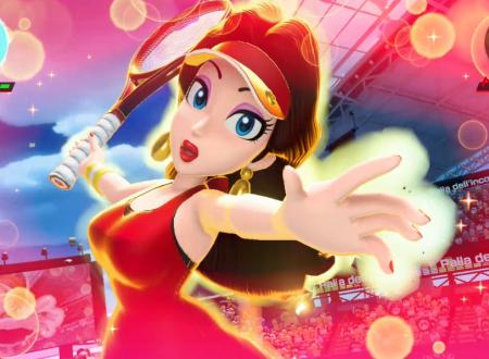 Mario Tennis Aces: uno sguardo in video a Pauline nel torneo online di marzo