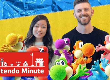 Nintendo Minute: video in co-op su Yoshi's Crafted World con Kit e Krysta