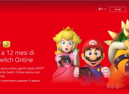 Nintendo Switch Online: Twitch Prime offrirà un anno di abbonamento al servizio