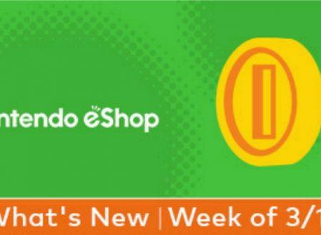 Nintendo eShop: Switch, Wii U e 3DS, le uscite settimanali del 28 marzo 2019