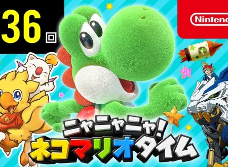 Nyannyan Neko Mario Time: pubblicato l'episodio 136 dello show felino con Mario e Peach