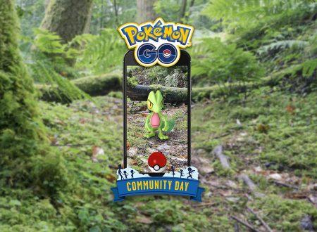 Pokèmon GO: Treecko sarà protagonista del Community Day del mese di marzo