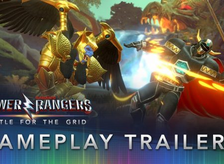 Power Rangers: Battle for the Grid, pubblicato un nuovo gameplay trailer dedicato al titolo