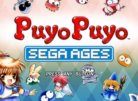SEGA Ages Puyo Puyo: uno sguardo in video al titolo dai Nintendo Switch giapponesi