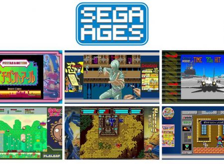 SEGA Ages: rivelato l'arrivo di altri classici come Shinobi, Wonder Boy, Fantasy Zone ed altri