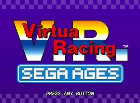 Sega Ages: Virtual Racing, pubblicati i primi screenshots del titolo su Nintendo Switch