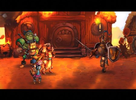 SteamWorld Quest: un nuovo video gameplay ci mostra uno dei boss del gioco