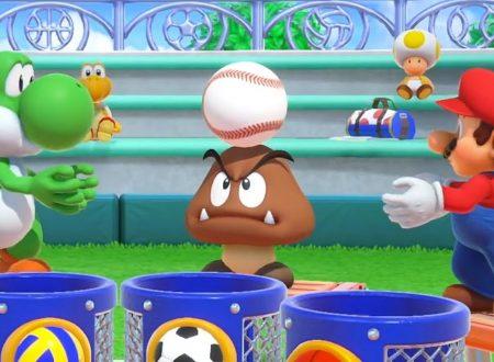 Super Mario Party: il titolo aggiornato alla versione 1.0.1 sui Nintendo Switch europei