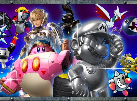 Super Smash Bros. Ultimate: ora disponibile l'evento: Metallo pesante