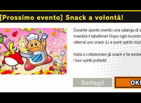 Super Smash Bros. Ultimate: svelato il nuovo l'evento: Snack a volontà!