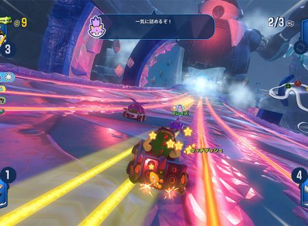 Team Sonic Racing: pubblicati nuovi screenshots sullo scenario Frozen Junkyard