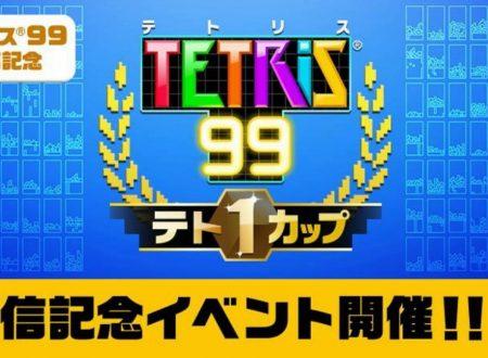 Tetris 99: annunciato l'arrivo della Tetris 99 Maximus Cup, in palio dei punti d'oro di My Nintendo